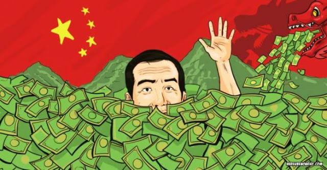 WOW! Utang Indonesia ke Cina Meningkat 474 Persen dalam 10 Tahun Terakhir