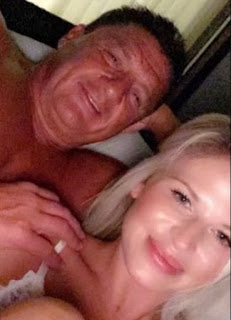 Picture of Ed Orgeron with his rumored girlfriend Bailie