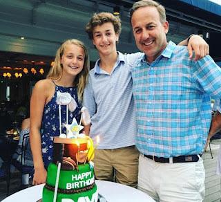 David Haffenreffer with his children (son & daughter)