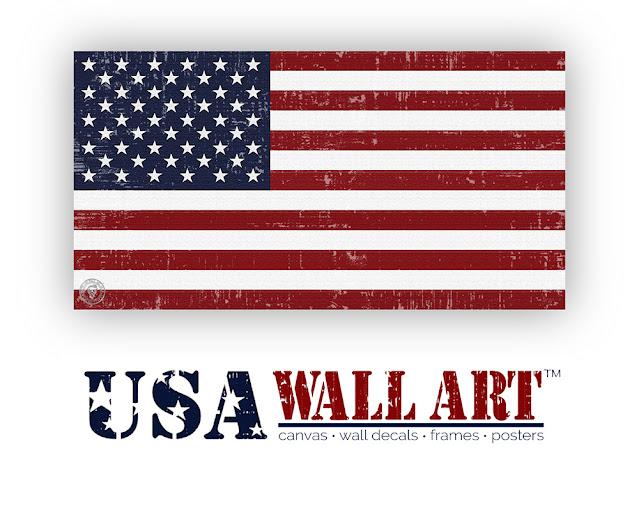 Distressed United States Flag