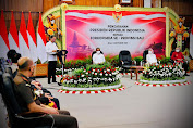 Presiden Jokowi Apresiasi Penanganan Covid-19 di Bali
