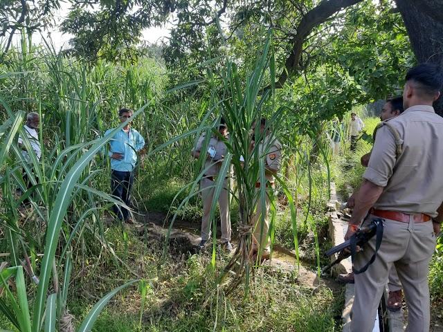 दिन दहाड़े किसान को मारी गोली दिल्ली रेफर