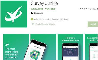 aplikasi survey penghasil uang terbaik ke rekening