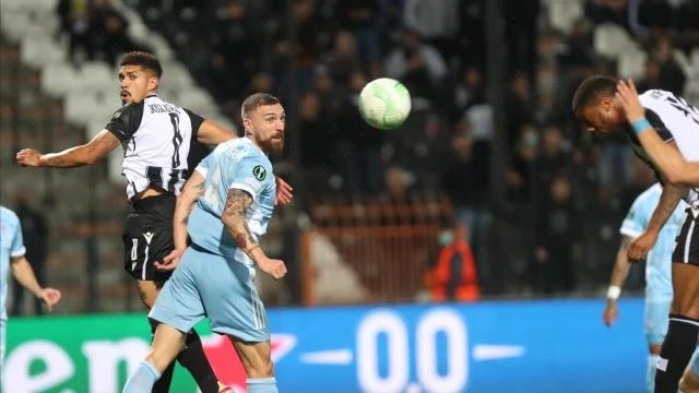 ΠΑΟΚ - Σλόβαν Μπρατισλάβας: Πάλεψε ο δικέφαλος ήταν καλύτερος αλλά δεν πήρε την νίκη (1-1)