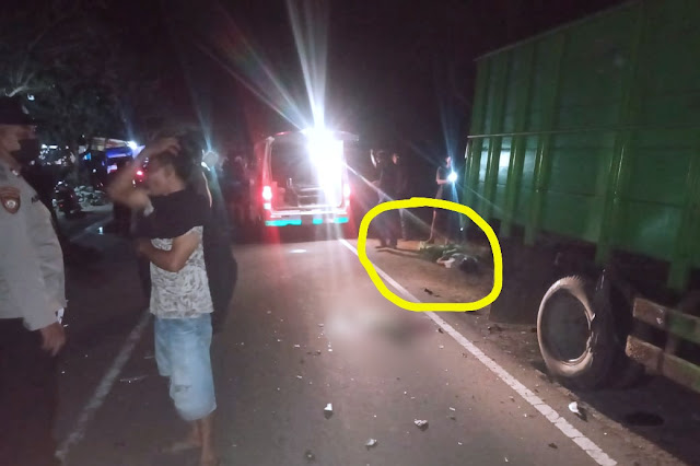 Pemotor asal Jerowaru tabrak truck hingga tewas