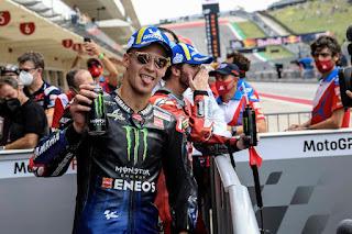 Hasil Kualifikasi MotoGP Austin Amerika 2021: Triple Pole Bagnaia !!