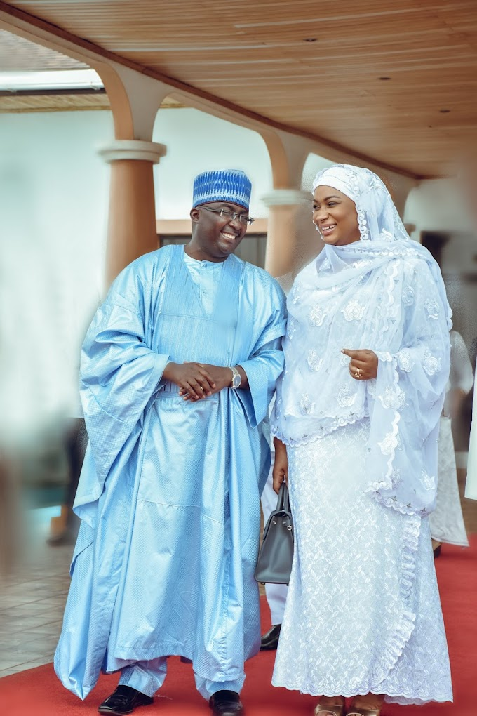 I love you for your Passion & Commitment to our family & nation - Samira To Bawumia on his birthday