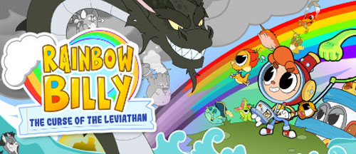 New Games: RAINBOW BILLY - THE CURSE OF THE LEVIATHAN  (PC, PS4, Xbox One/Series X, Switch)