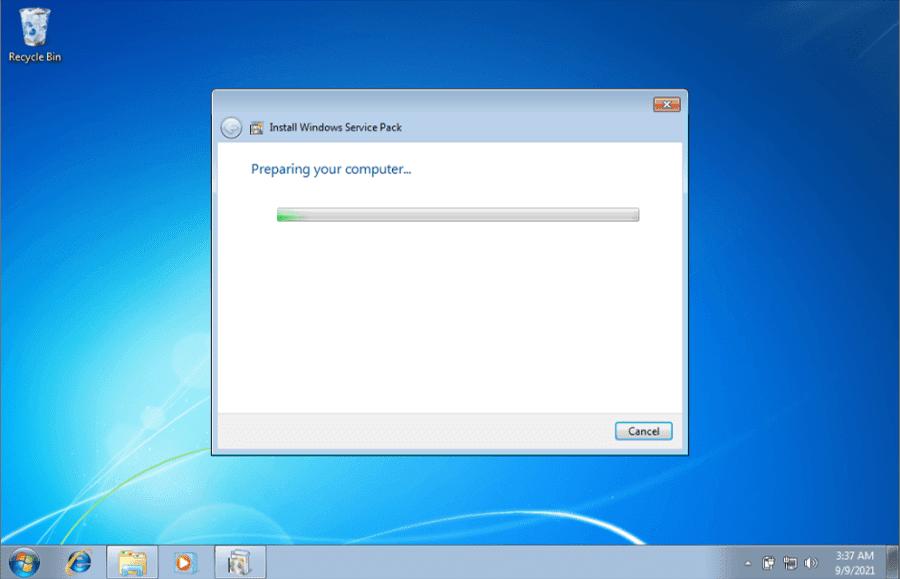 Cara Install Windows 7 SP1 Komputer dan Laptop