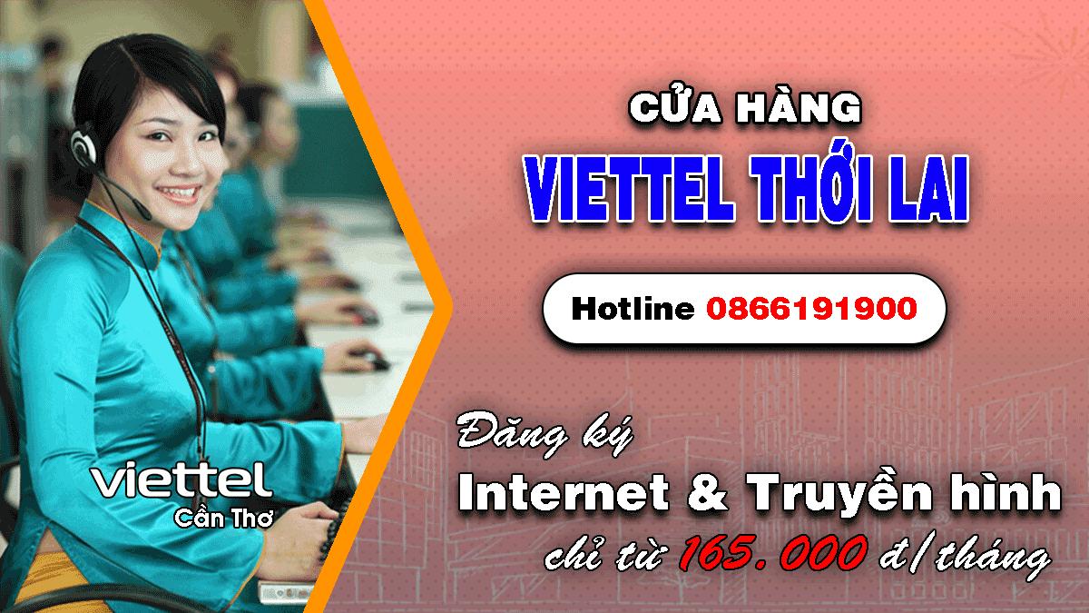 Cửa hàng Viettel huyện Thới Lai - Cần Thơ