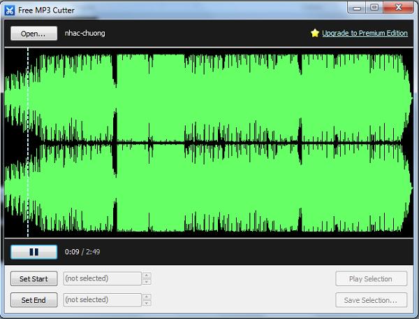 Tải Free MP3 Cutter - Phần mềm cắt nhạc MP3, tạo nhạc chuông miễn phí c