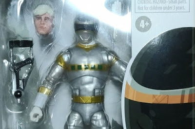 PRLC In Space Silver Ranger Action Figure First Look