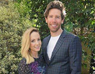 Joanne Froggatt with her ex-husband James Cannon