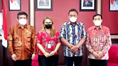 Tinjau Pelayanan Publik di Sulut, Ombudsman RI Sampaikan Rekomendasi ke Gubernur Olly