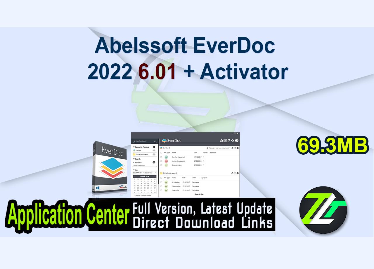 Abelssoft EverDoc 2022 6.01 + Activator