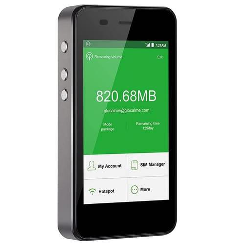 GlocalMe G3 4G LTE Mobile Worldwide High Speed WiFi Hotspot