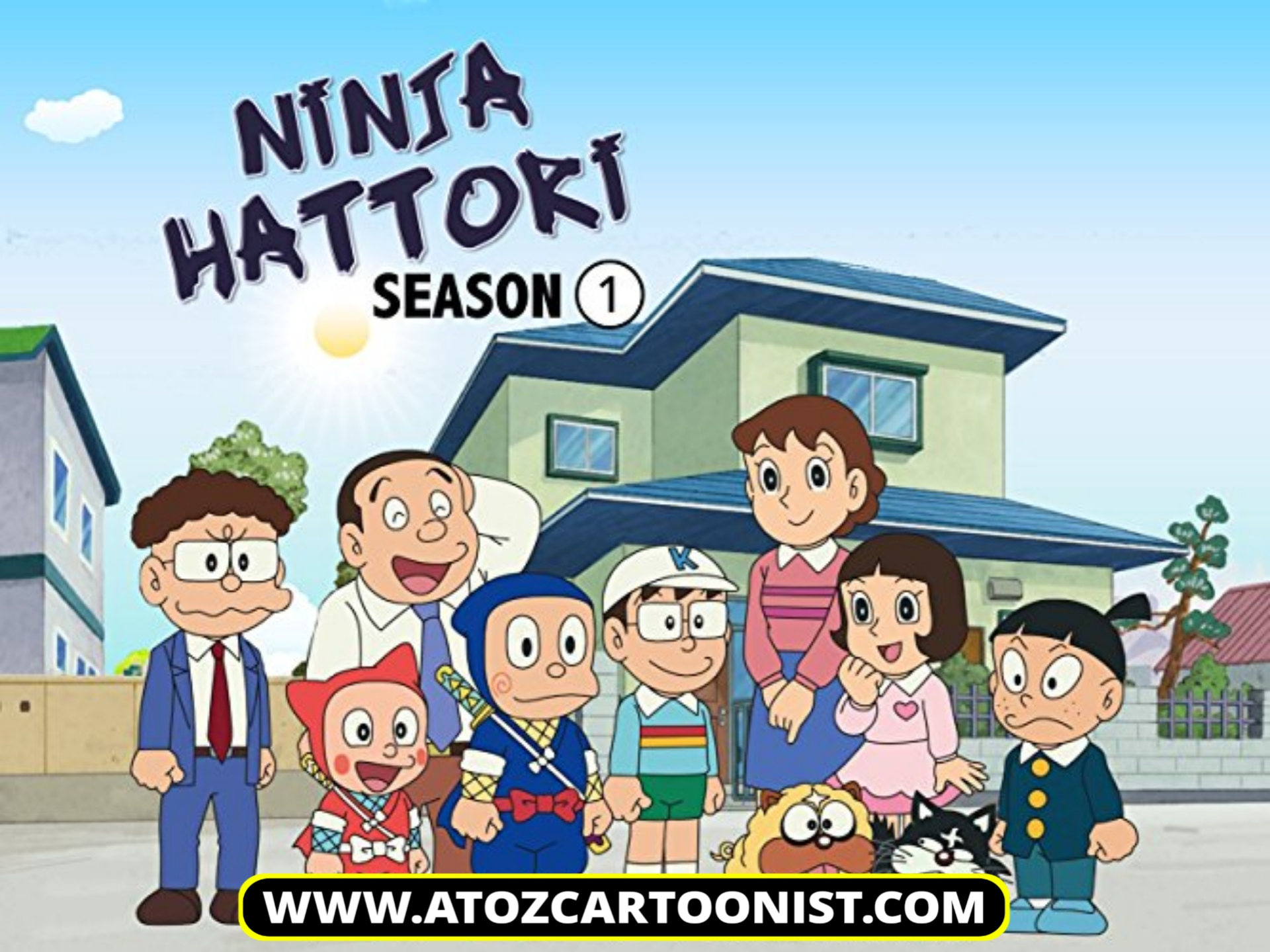 NINJA HATTORI : SEASON 01 ALL EPISODES IN HINDI – ENGLISH – TAMIL – TELUGU DOWNLOAD (576P AMZN WEB-DL)