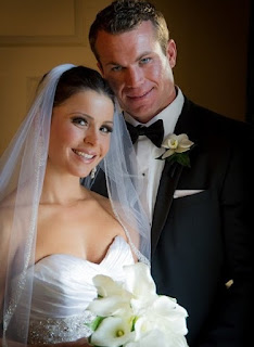 Melissa Mack with her spouse Ryan Myers