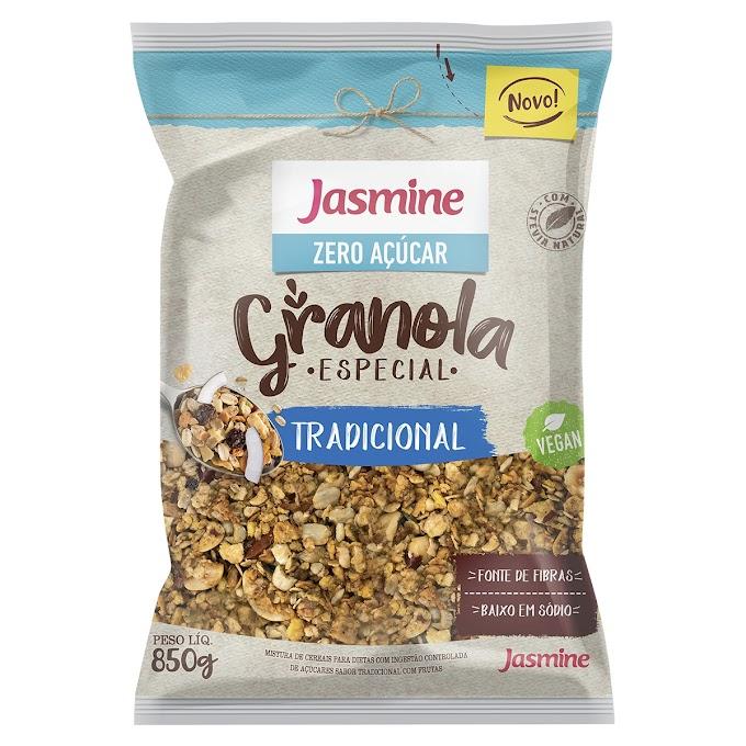 """Com foco nos """"atacarejos"""", Jasmine Alimentos amplia linha de granolas tamanho família"""