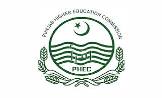 www.punjabhec.gov.pk - PHEC Punjab Higher Education Commission Jobs 2021 in Pakistan