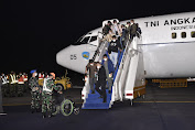 Panglima TNI Sambut Kedatangan WNI dari Afghanistan