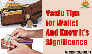 Vastu Tips for Wallet And Know It's Significance