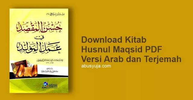 Download Kitab Husnul Maqshid Karya Imam Suyuthi