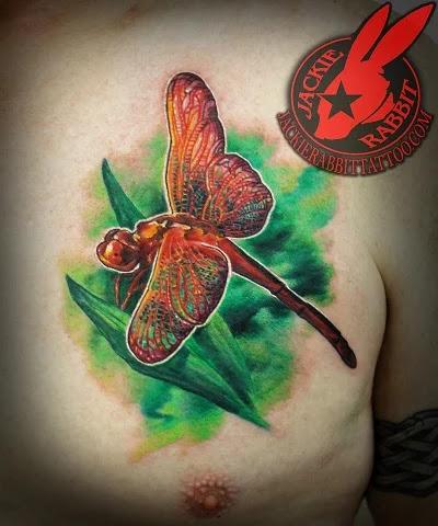 dragon forearm tattoo
