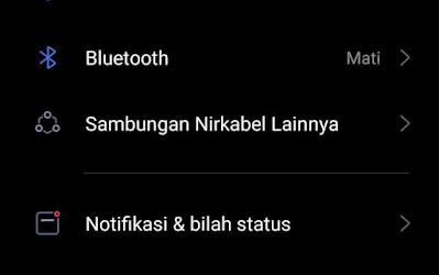 menoaktifkan notif apliaksi di android