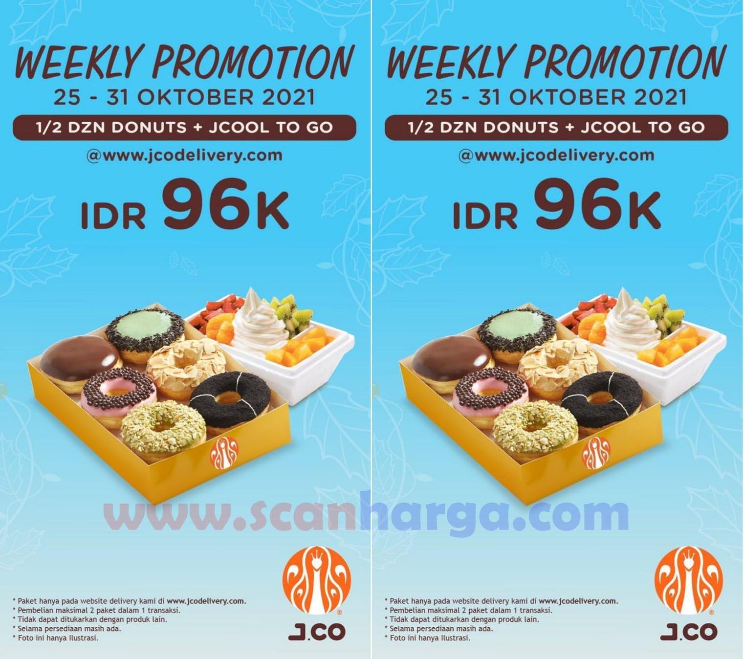Promo JCO Weekly Promotion Terbaru 25 - 31 Oktober 2021