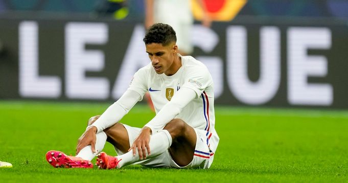 Manchester United confirms Raphael Varane out 'for a few weeks with groin injury