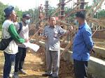 Kacabdisdik Provinsi Sumut  tinjau pembangunan tanpa pondasi di SMKN 2 Lotu.