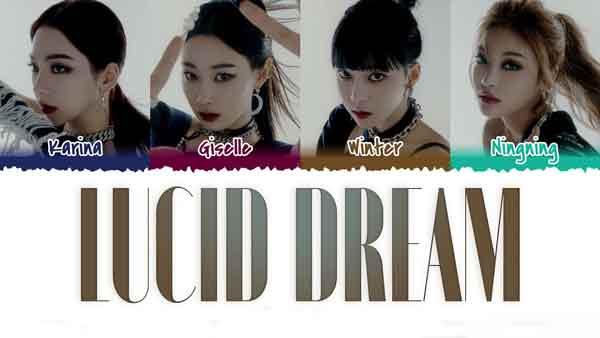 aespa lucid dream english translation lyrics genius