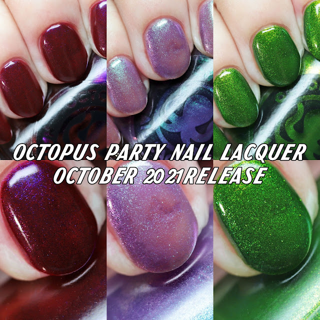 Octopus Party Nail Lacquer 2021 Release