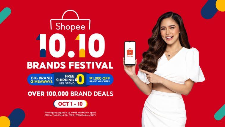 Shopee kicks off 10.10 Brands Festival with Kim Chiu as brand ambassador