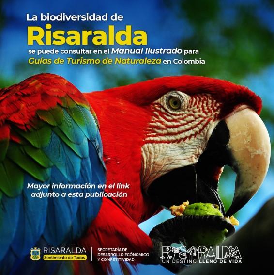 Colombia estrena su primera guía para el turismo de naturaleza y Risaralda tiene un capitulo especial