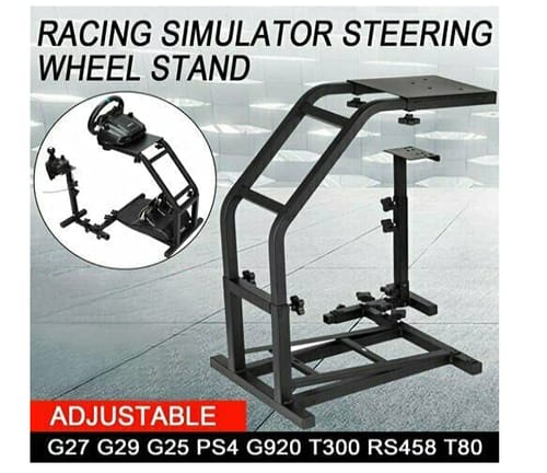 Blütezeit Racing Wheel Stand with Pro Shifter Mount for Logitech