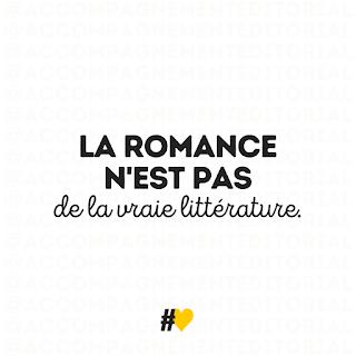 La romance n'est pas de la vraie littérature