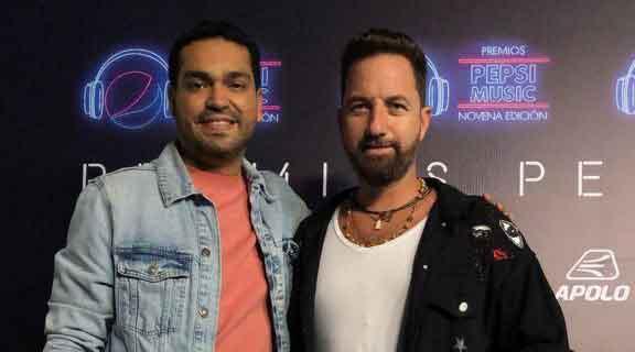 """DJ CESAR ARELLANO DIJO PRESENTE EN LOS PREMIOS """" PEPSI"""""""