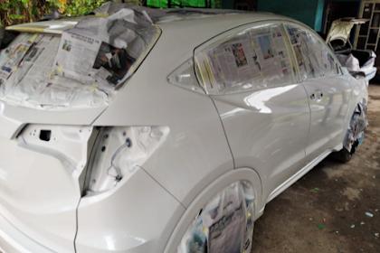 Cara Mengecat Ulang Body Mobil Agar Mengkilap Untuk Pemula