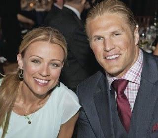 Casey Noble with her husband Clay Matthews III