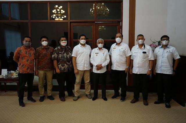 Audensi Dengan Bupati Asahan,  PTPN IV Harapkan Pemkab Asahan Menyediakan Vaksin Covid-19