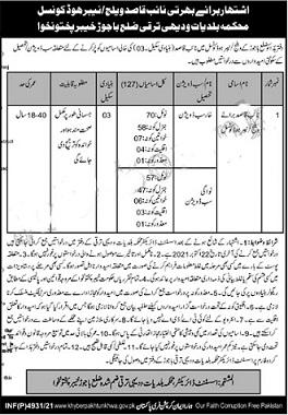 naib qasid jobs in education department 2021