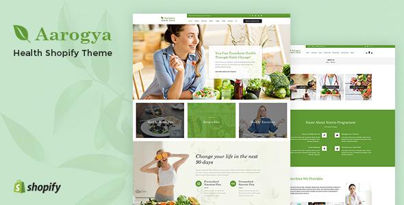 aarogya shopify theme for free