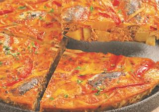 Food: Resep Tortilla Espanola Cor sardina