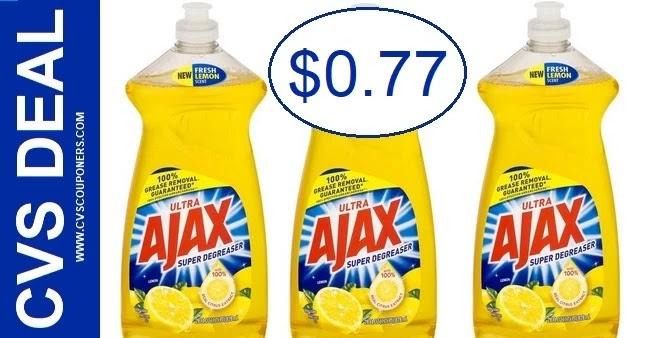Ajax Dish Soap CVS Deal 10-10-10-16