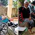 75-Anyos na Tatay, Tulak ang Kanyang Anak na Nakaupo sa Wheel Chair Upang Samahan Ito sa Paghahanap ng Trabaho!