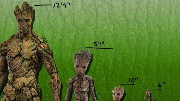 Khi nào Groot sẽ trở lại bình thường