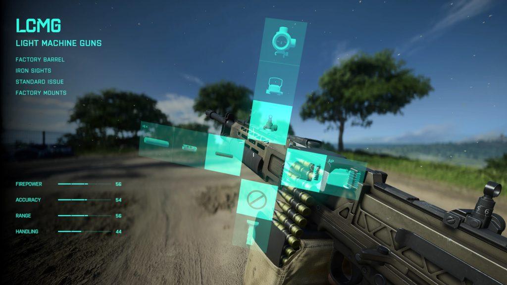 LCMG - light machine gun