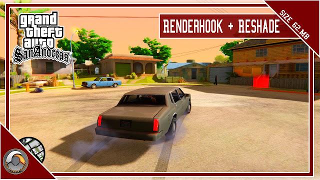 GTA San Andreas - 2021 Graphics Mod Renderhook + Reshade